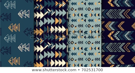 absztrakt · mértani · kék · háttér · művészet · szín - stock fotó © littlecuckoo