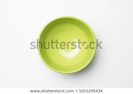 Empty Green Porcelain Container Stock photo © dezign56