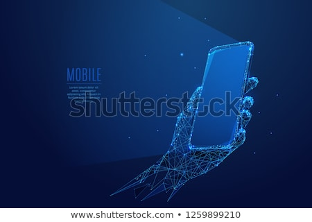 gadget in the palm Stock photo © PetrMalyshev