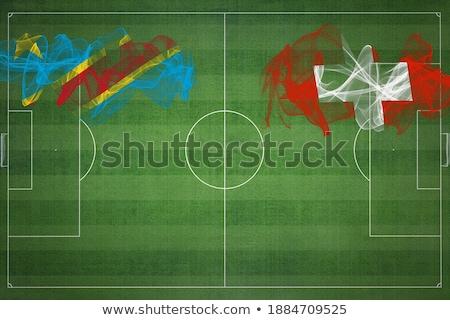 Szwajcaria Congo flagi puzzle odizolowany biały Zdjęcia stock © Istanbul2009