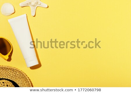 A topview of a yellow tube Stock photo © bluering