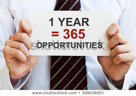 1 Year Is Equal To 365 Opportunities Stock photo © ivelin