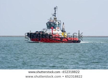 river shannon tug boat sailing Stock photo © morrbyte