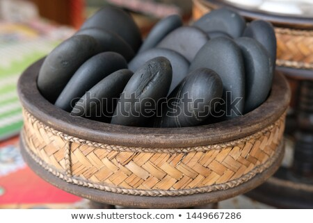 Spa Hot Stones Kit stock photo © AndreyPopov
