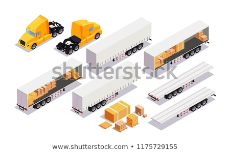 Shipment Concepts - Set of 3D Illustrations. Stock photo © tashatuvango