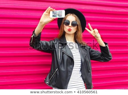 Mode style photo jolie jeune fille séduisant blond Photo stock © majdansky