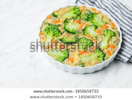 аппетитный служивший свежие травы растительное Сток-фото © dariazu