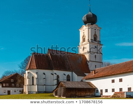 Stock photo: church in bavaria
