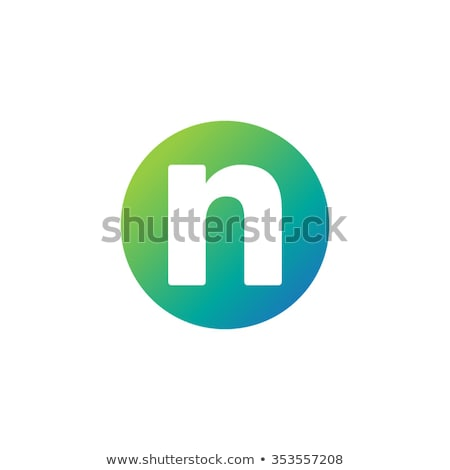 Blue and Green Logo Shapes and Icons of Letter A Stock photo © cidepix