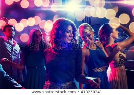 Gens heureux danse discothèque musique femme Photo stock © wavebreak_media