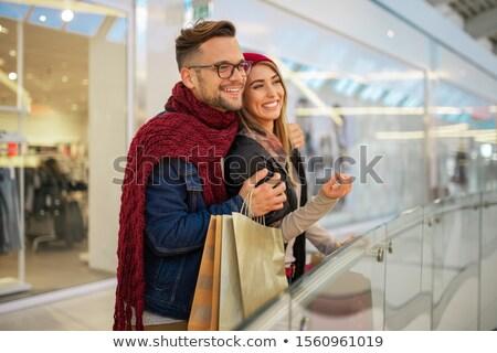 lopen · liefde · winkel - stockfoto © Minervastock