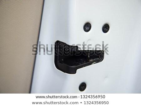 metal door latch stock photo © oleksandro