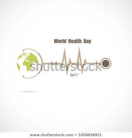 mondo · cuore · giorno · vettore · banner · internazionali - foto d'archivio © konturvid