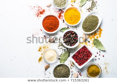 Bowl of red peppercorn Stock photo © Alex9500