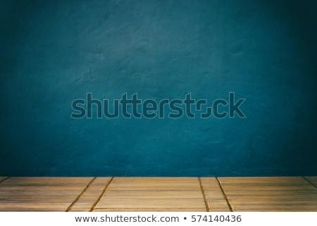 verouderd · verweerde · gebarsten · geschilderd · hout · grunge - stockfoto © ozaiachin