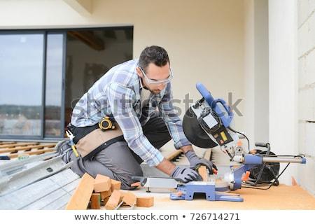 Ház fa deszka textúra fa fa építkezés Stock fotó © njaj