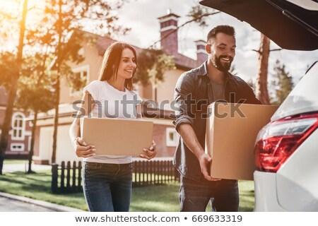 Lányok mozog együtt nők otthon diákok Stock fotó © photography33