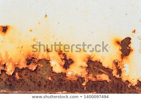 Stock photo: Streaks of Rust