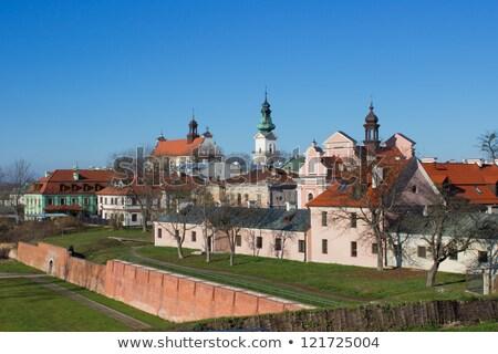 Photo stock: église · Pologne · bâtiment · architecture · ville · extérieur
