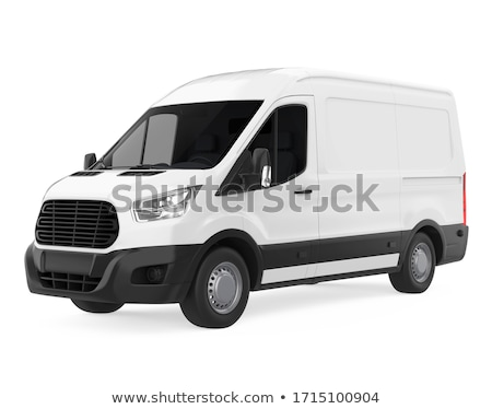 Transporter on white Stock photo © cherezoff