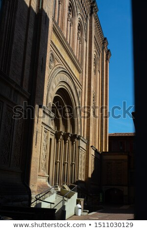 Church of the Sacred Heart of Jesus in Bologna, Italy Stock photo © boggy