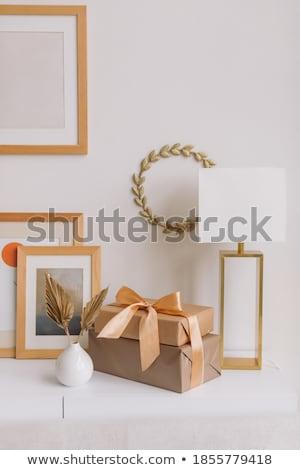 вектора · Рождества · венок · омела · белая · изолированный · белый - Сток-фото © robuart