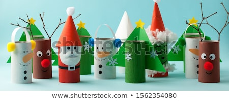 Navidad artesanía materiales decorado regalo Foto stock © jsnover