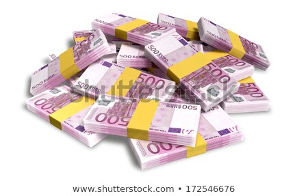 Scattered Euro Banknote Pile Stock photo © albund