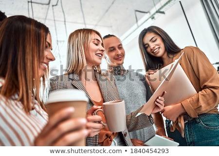 スタートアップ ビジネスの方々  会議 小さな 創造 ストックフォト © Freedomz