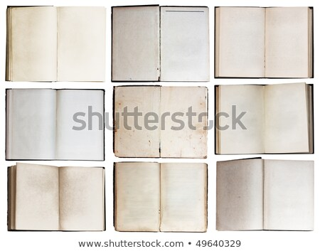 group of different books with blank pages stock photo © loopall