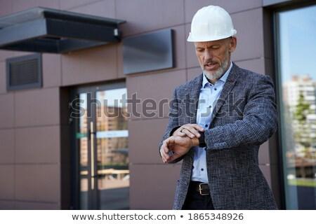 arquiteto · senior · engenheiro · plano - foto stock © photography33