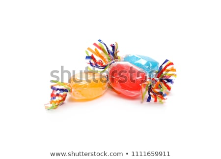 colorful candies on white background Stock photo © ozaiachin