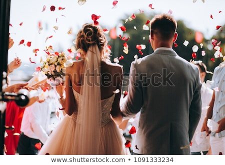 Wedding bouquet and register Stock photo © RTimages