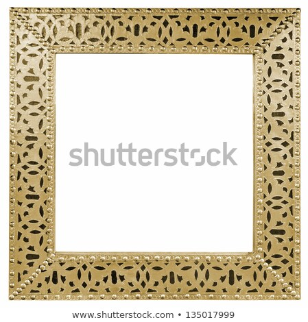 Moroccan mirror frame Stock photo © smuki