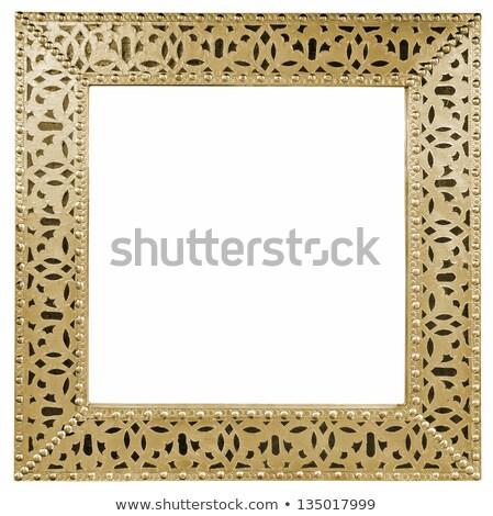 rustykalny · lustra · vintage · stylu · granicy · ramki - zdjęcia stock © smuki