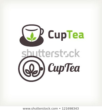 Soyut parlak çay kahve duman Stok fotoğraf © rioillustrator
