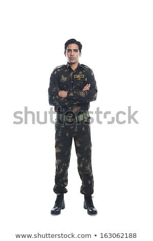 студию военных персонал молодые американский Сток-фото © stockyimages