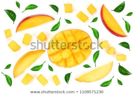 Mango sliced part  Stock photo © natika