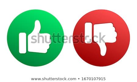 Felső akciók zöld vektor ikon gomb Stock fotó © rizwanali3d