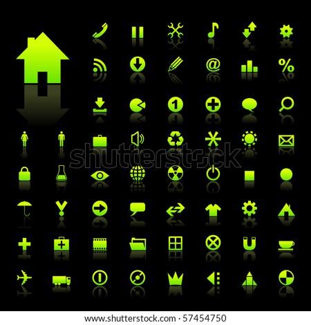 Rss podpisania zielone wektora ikona projektu Zdjęcia stock © rizwanali3d