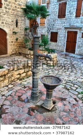 Old town in Kotor, Montenegro. HDRI image Stock photo © frescomovie