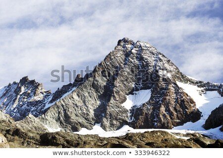 snow covered mountain side stock photo © iofoto