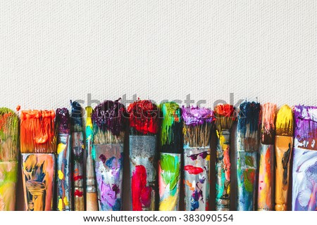 Pintura isolado branco pintar arte educação Foto stock © wime