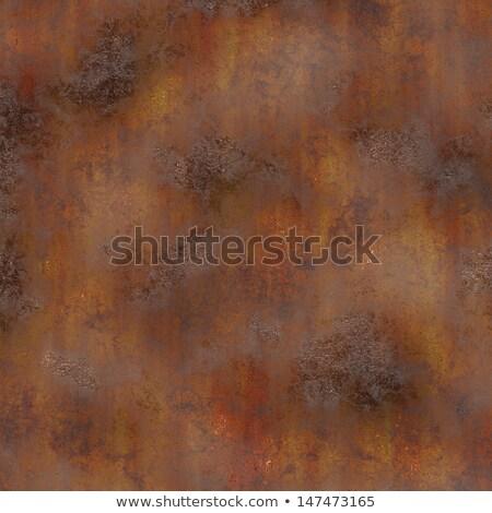 rozsdás · textúra · öreg · fémes · tányér · háttér - stock fotó © viperfzk