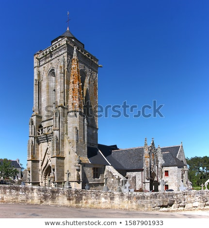 kerk · gebouw · bouw · glas - stockfoto © prill