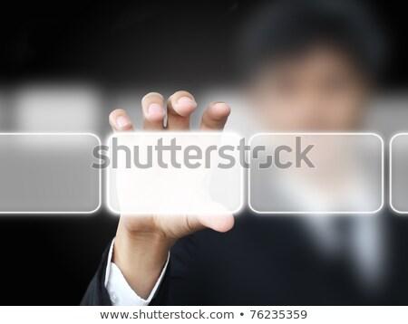 blue business innovation key on keyboard stock photo © tashatuvango
