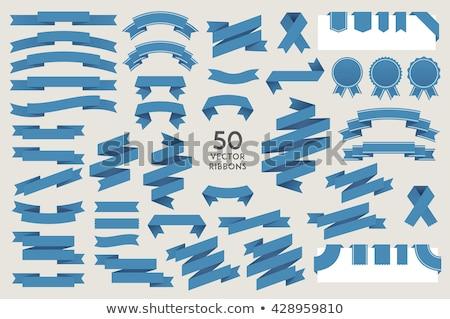 adjudicación · cinta · banner · estilo · aislado · blanco - foto stock © studioworkstock