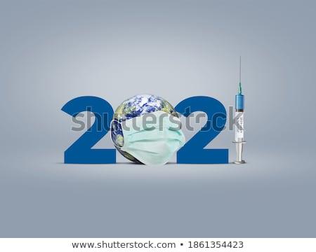 syringe with vaccine Stock photo © restyler