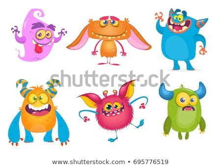 Cartoon sorridere party grafica confetti vettore Foto d'archivio © cthoman