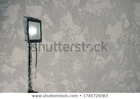Stock photo: Builder on a light background